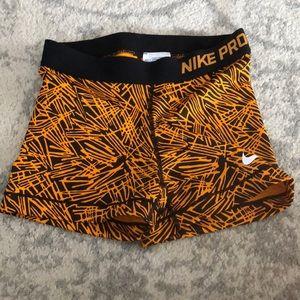 Nike spandex shorts.